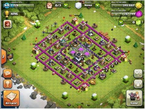 aldea clash of clans