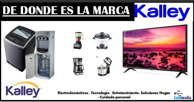 Productos que ofrece la marca Kalley