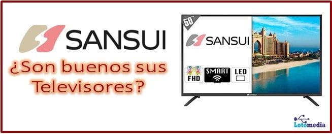 Son buenos o malos los televisores Sansui